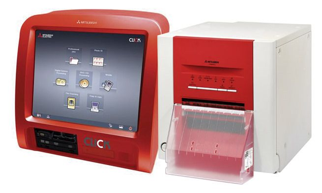AVAILABLE FOR RENTAL! Mitsubishi Photo Printer with Touch ...