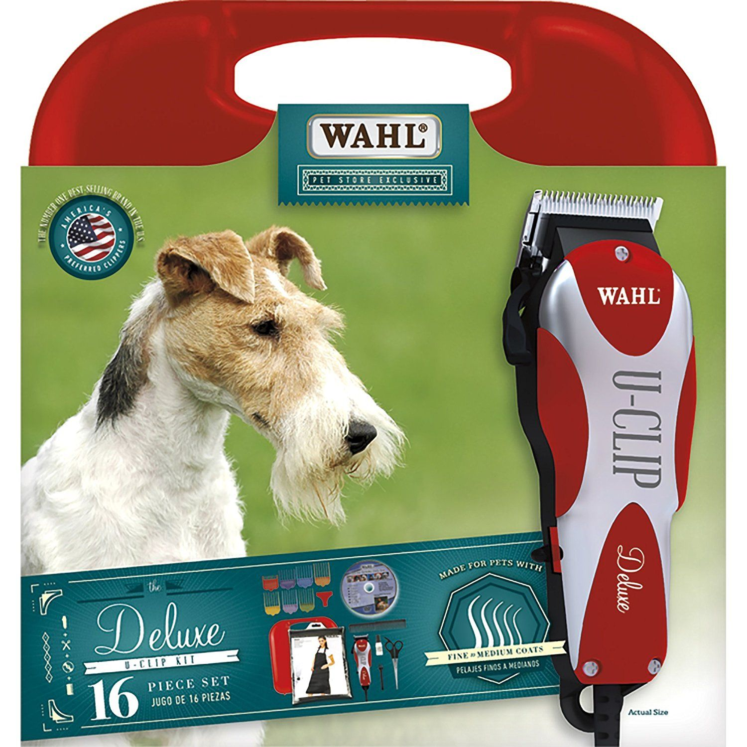 Wahl U Clip Pet Clipper Kit You Can Find More Details By Visiting The Image Link This Is An Affiliate Link Pet Grooming Dog Grooming Supplies Dog Grooming