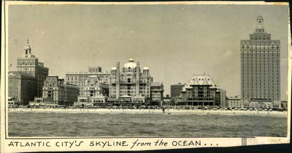 1920s Atlantic City Boardwalk Scene Isn T It Magnificent Atlantic City Boardwalk Atlantic City City Skyline