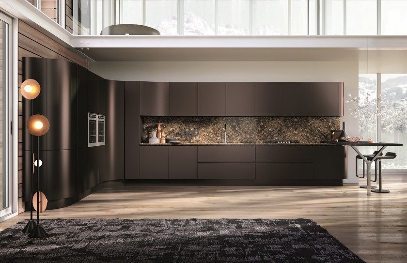 Linear kitchen DOMINA | Linear kitchen by Aster Cucine S.p.A. ...