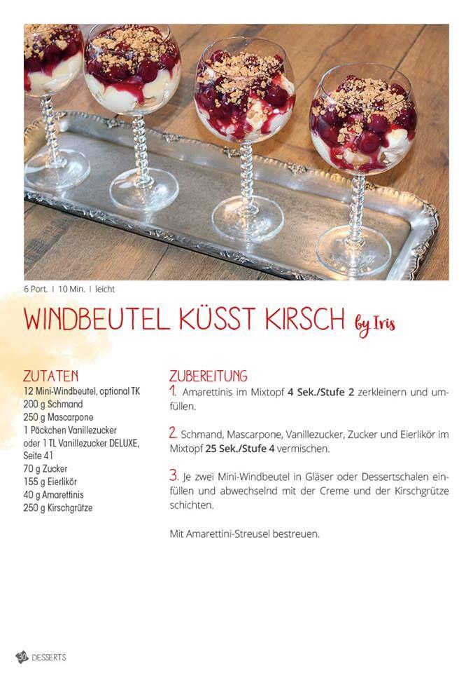 Windbeutel küsst Kirsch – Bines-Thermi-Welt #trifledesserts