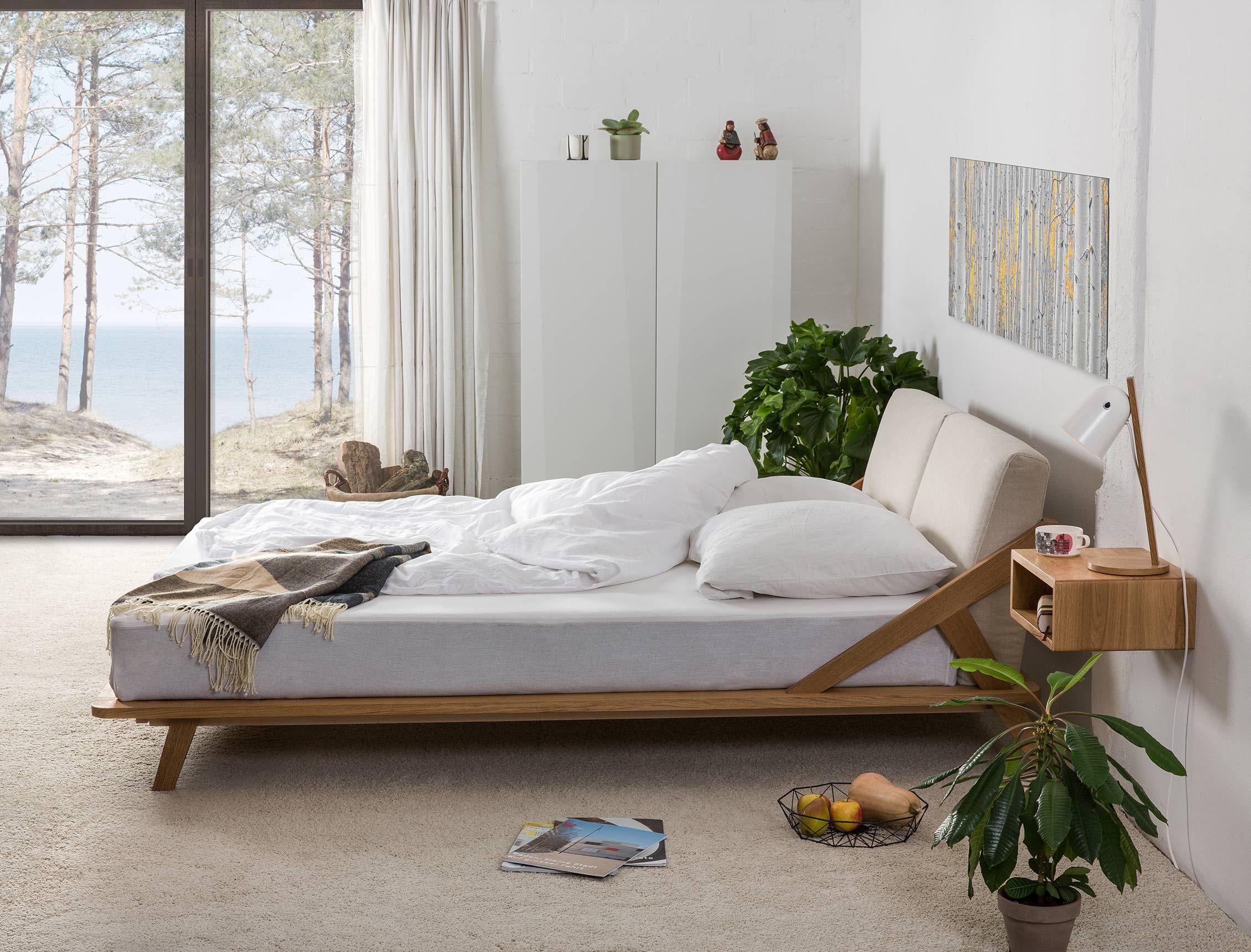 Nordic Space Bett Nordische schlafzimmer, Modernes