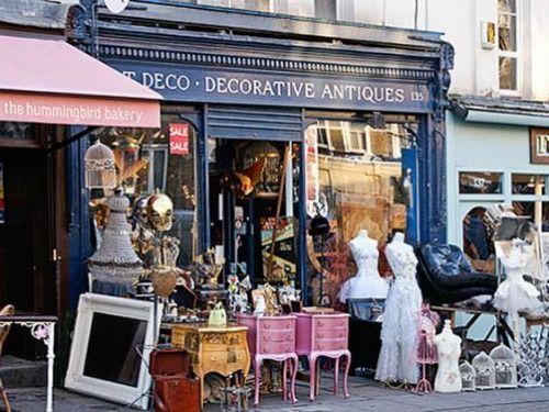 The Hummingbird Bakery In London London Perfect Blog European Antiques Antique Market Portobello Road