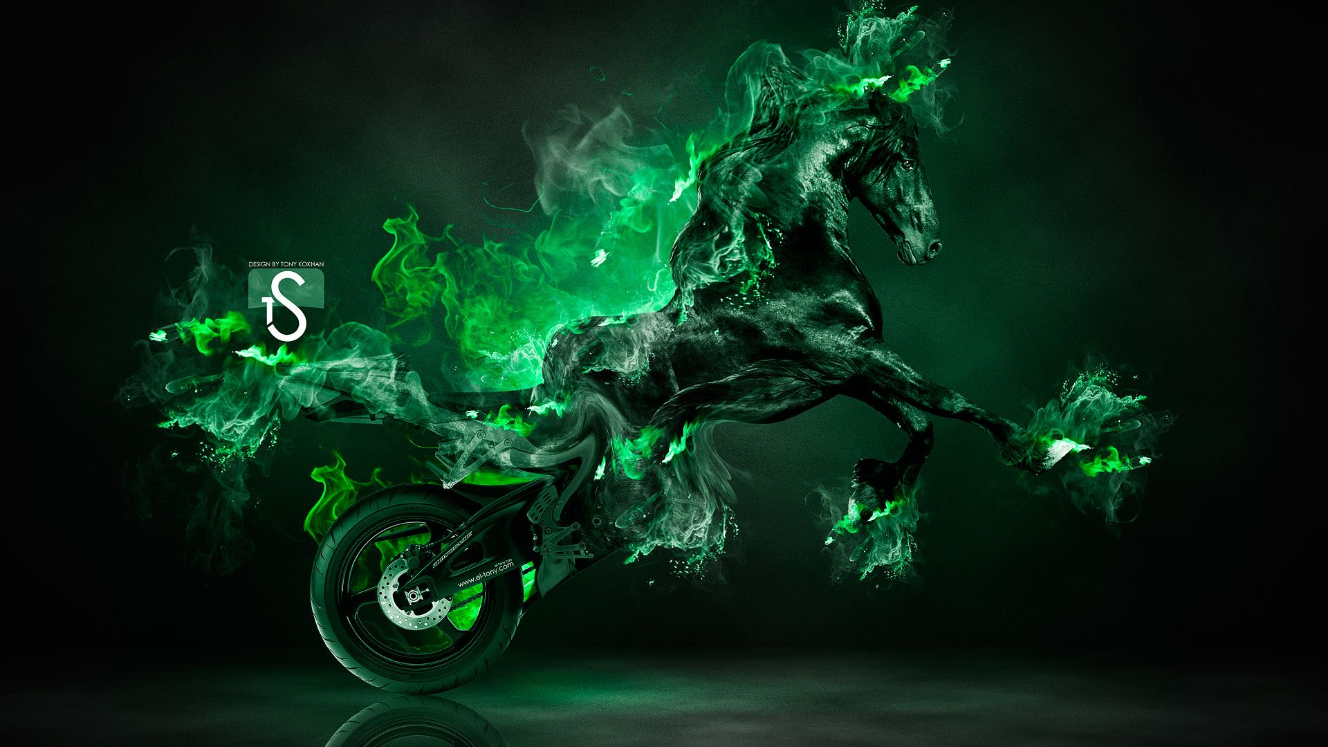 Pin By Candice Chisholm On Smoke Powder Fire Horse Horse Wallpaper Fantasy Horses