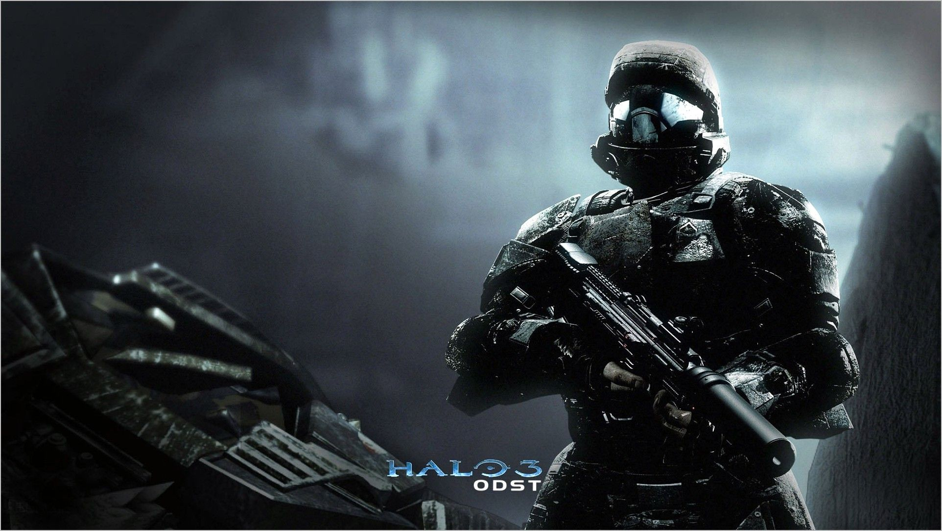 Halo 3 Odst 4k Wallpaper In 2020 Halo 3 Odst Halo 3 Halo Game