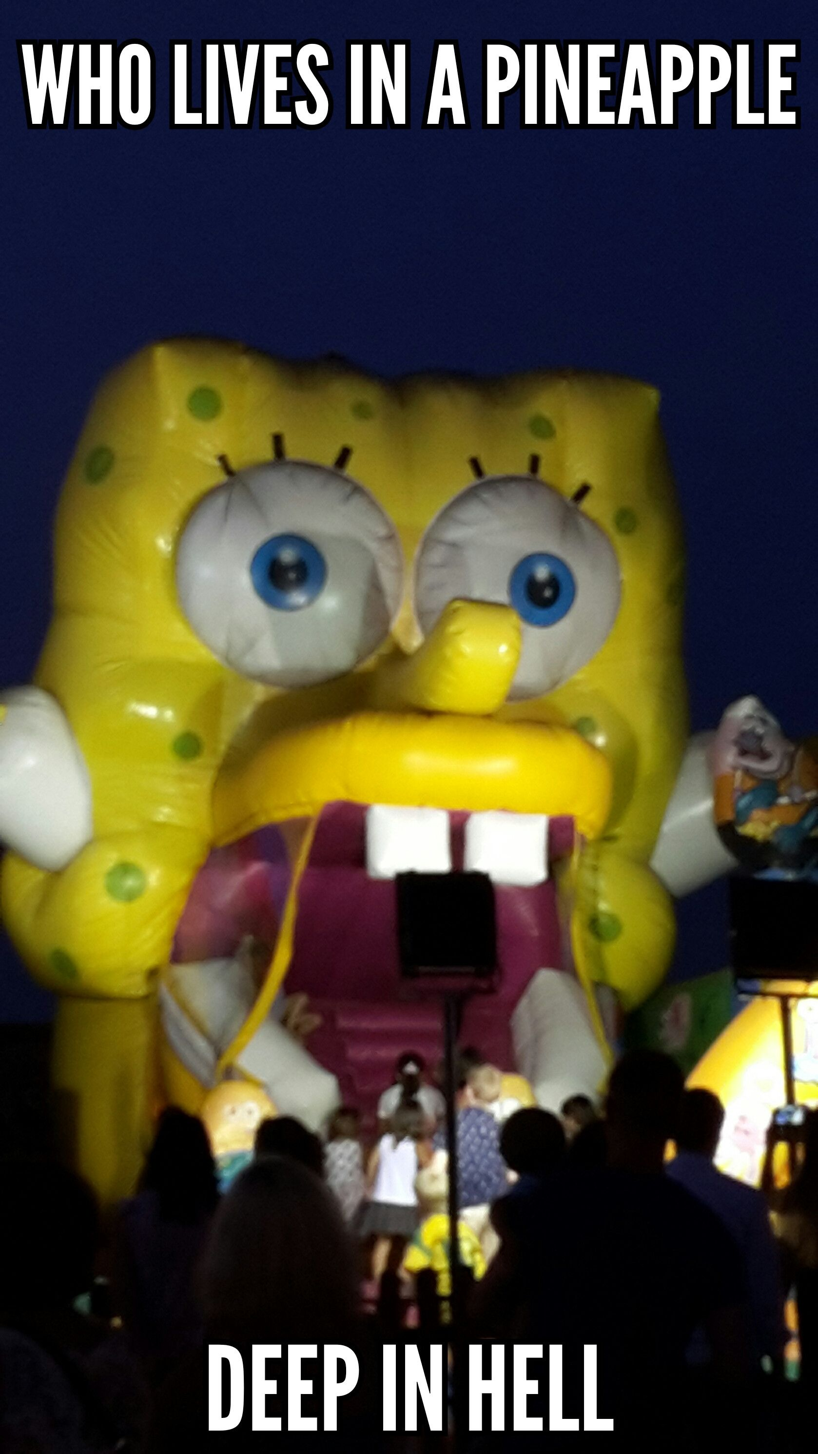 Scary Spongebob : scary, spongebob, Spongebob, Scarepants, Funny, Pictures,, Funny,, Photos