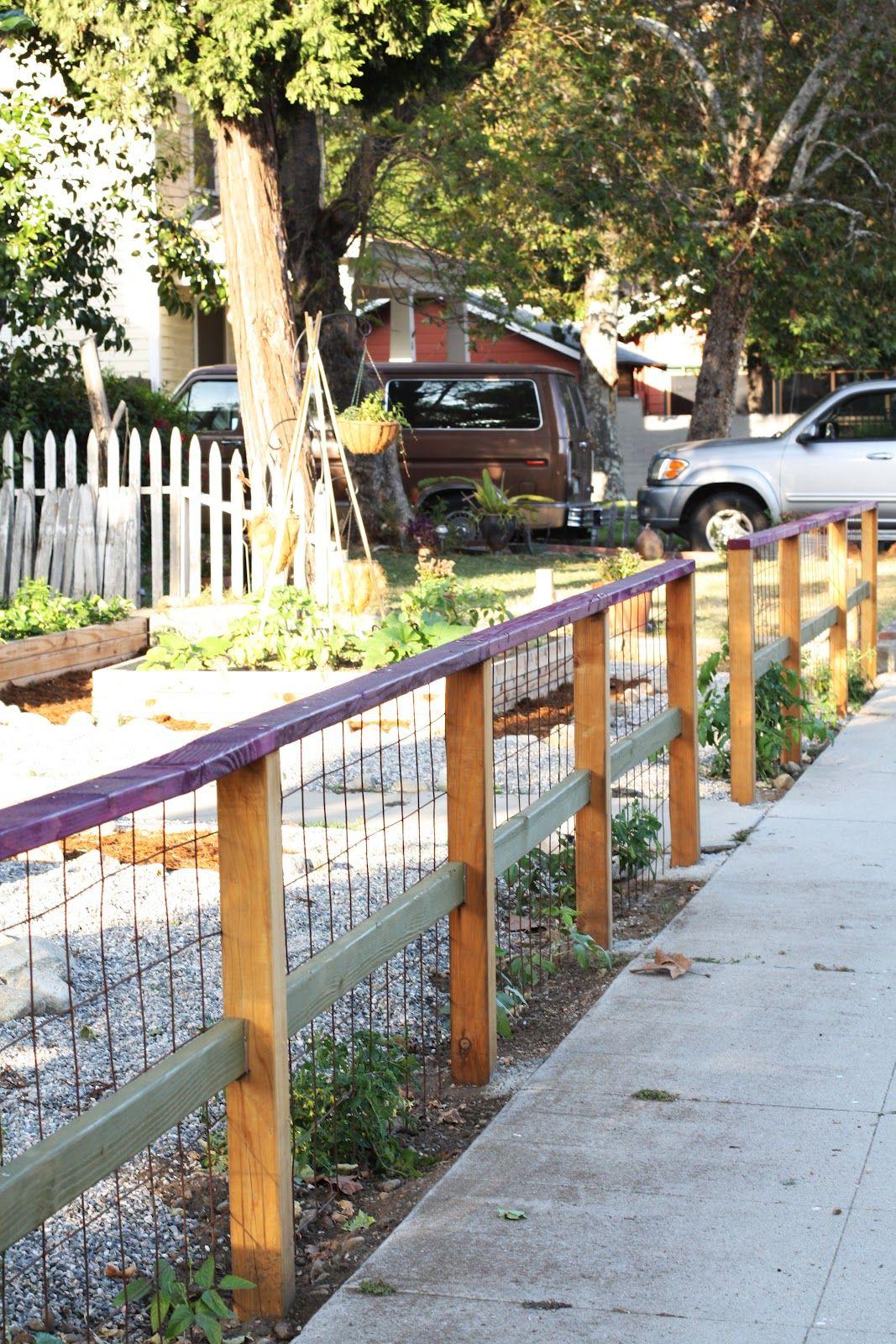 Chicken Fence Idea | fencing | Chicken garden, Chicken fence