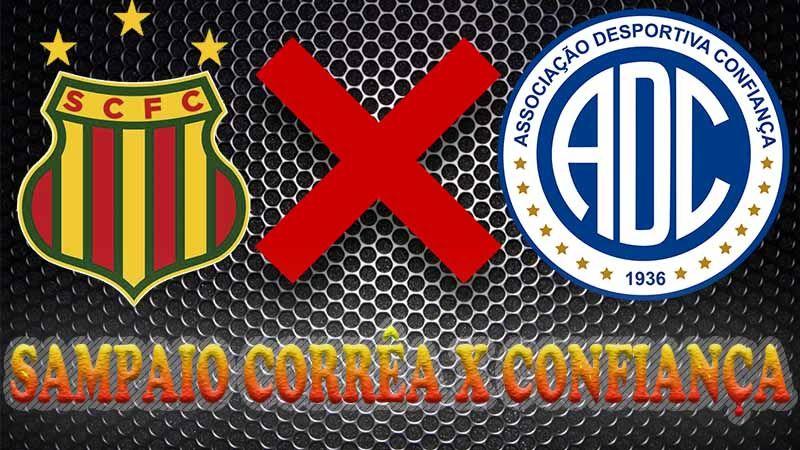 Sampaio Correa X Confianca Ao Vivo Iguais Na Tabela Sampaio