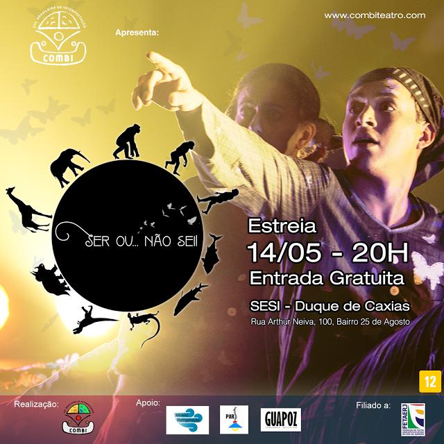 Agenda Cultural RJ: O mais novo espetáculo da COMBI, ESTREIA dia 14 de...