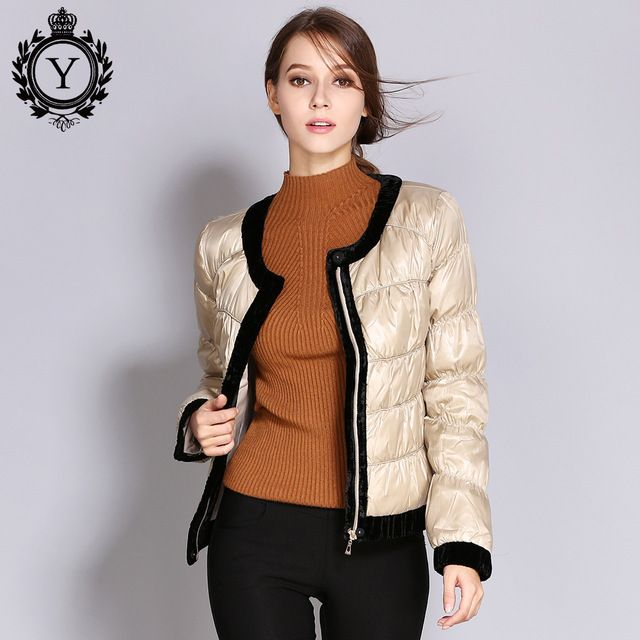 3604a7eccce 2018 New Parka Womens Duck Down Jacket Spring Autumn Short Female Coats  Plus Size Quality Coat