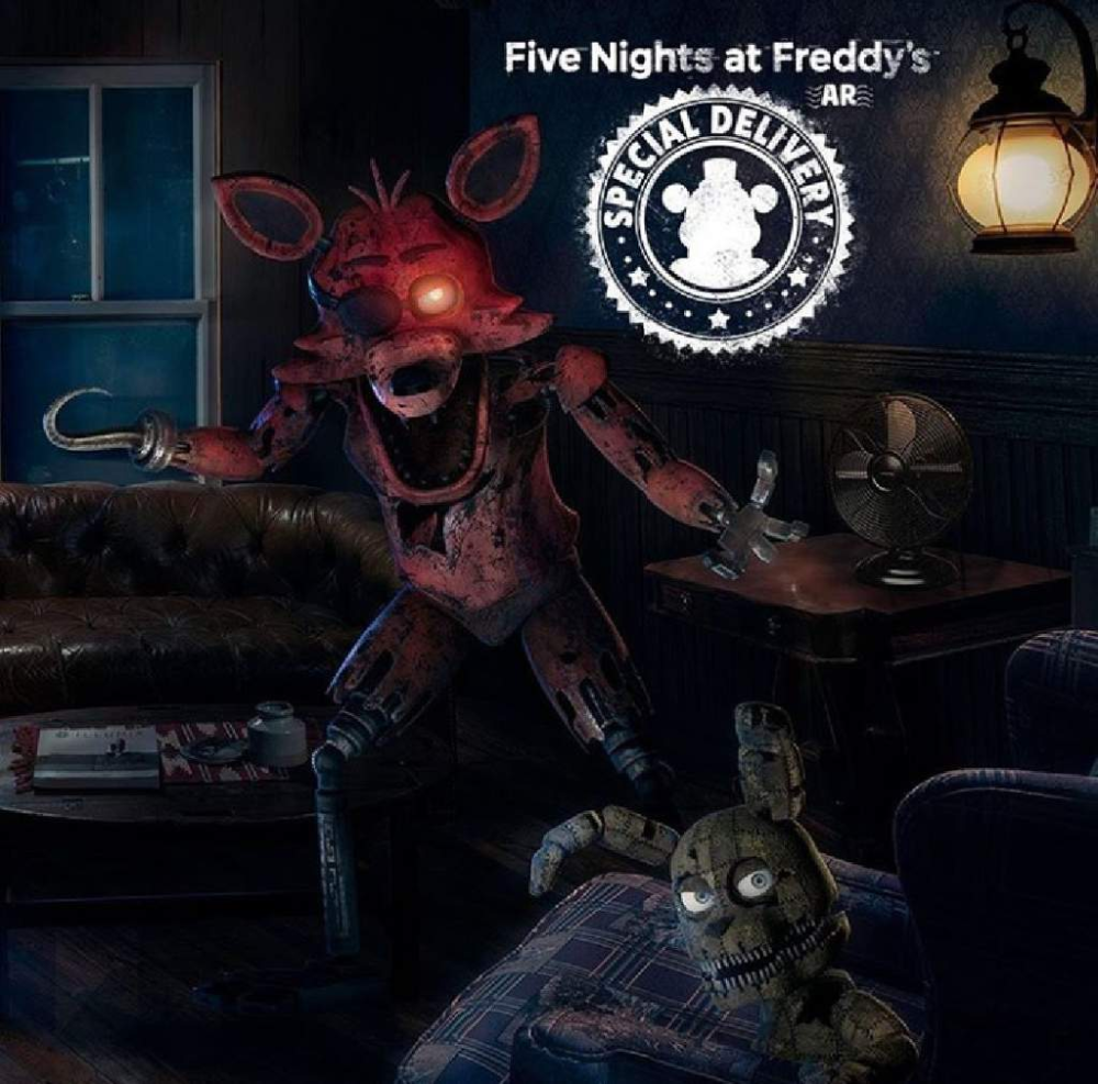 Análisis de Fnaf AR + nuevo libro+ actualización en Steam