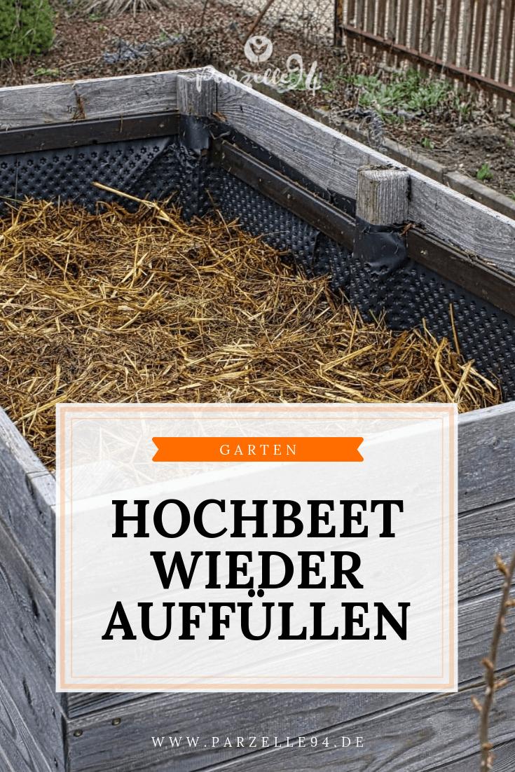 Hochbeet Wieder Befullen Anleitung Und Infografik Garten Hochbeet Erhohte Pflanzbeete