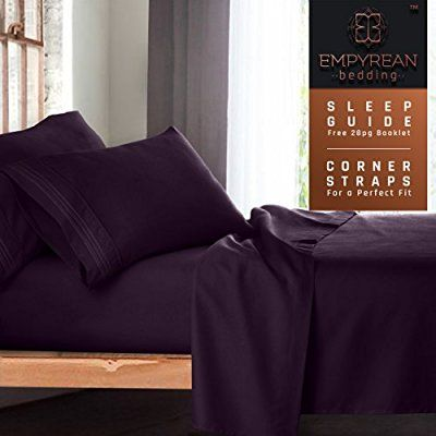 Fits Deep Pockets High Quality 4 Piece Bed Sheet Set