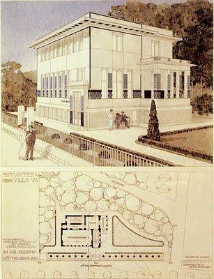 Villa Wagner, Vienna, 1912-1913