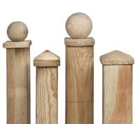 Fences | Wood fence post, Fence, Pergola