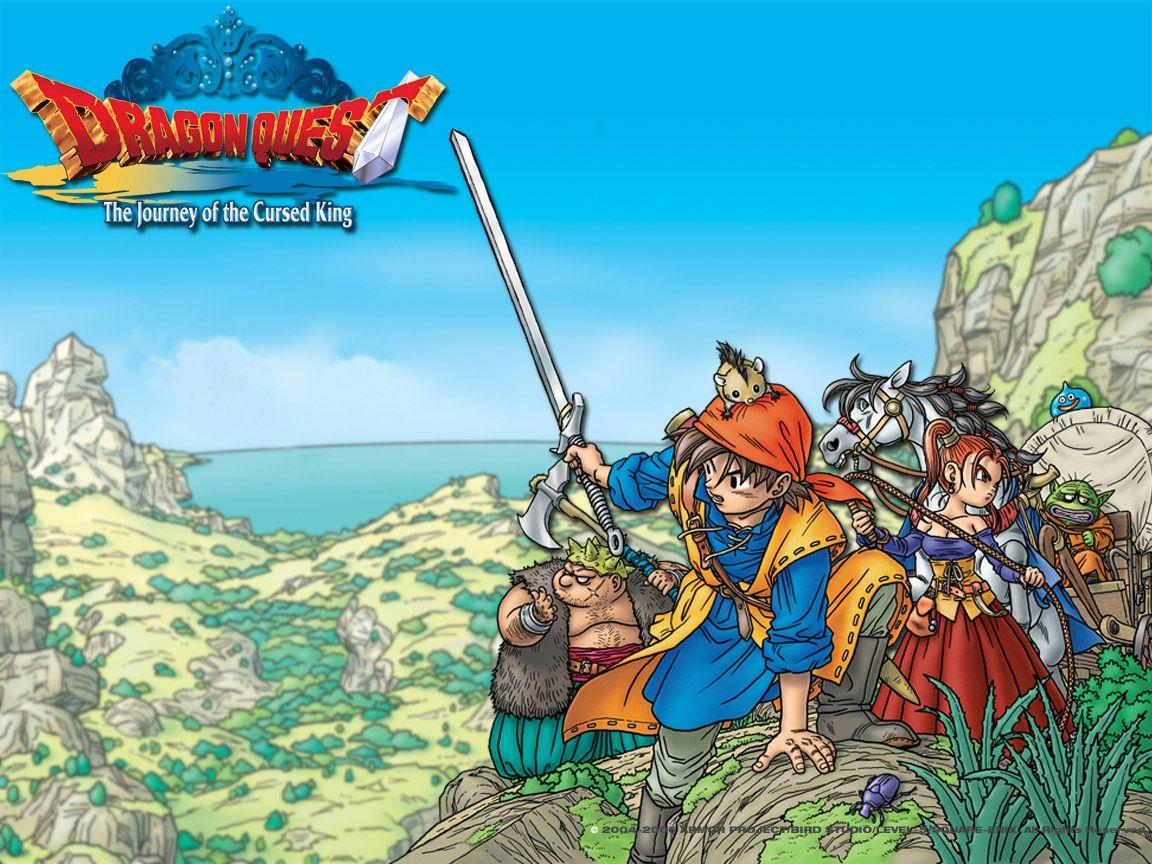 Dragon Quest 8 concept art - Google Search