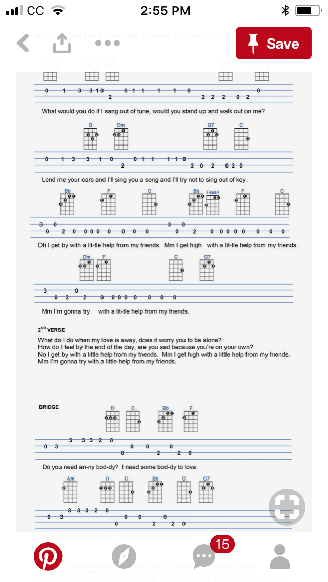 Pin By Dave Sharpe On Ukulele Pinterest Guitar Chord Chart