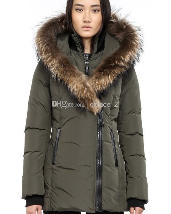 92a133df3194 Wholesale Canada new brand Mackage lady down jackets ADALI-F4 FITTED WINTER  DOWN COAT WITH FUR HOOD