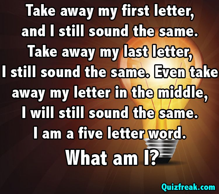 Riddle Of The Day Do You Know The Answer Comment Below And Pin It