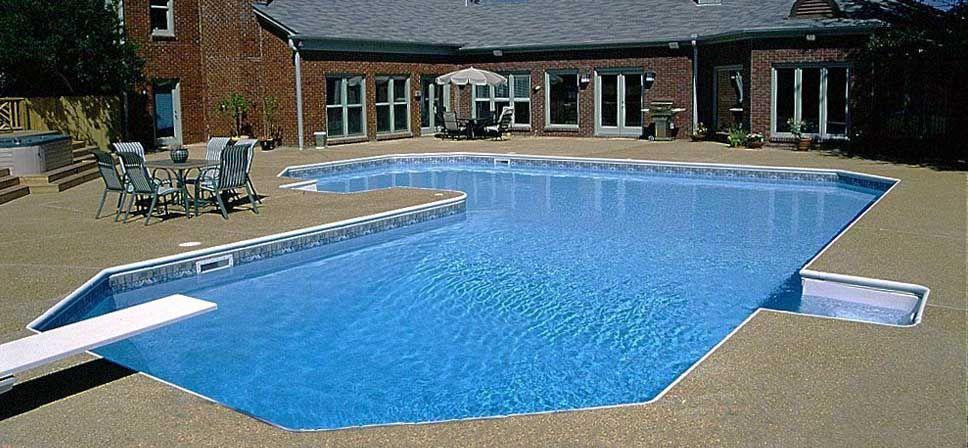 Grecian L Shape Inground Pool Kits