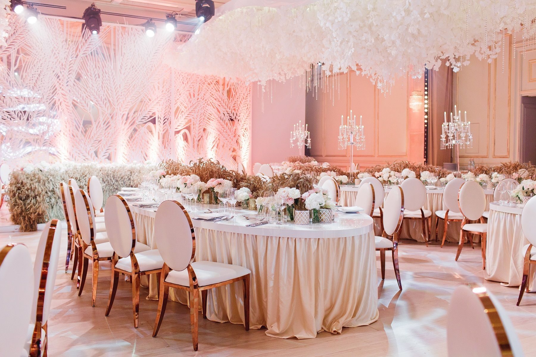 Wedding decoration ideas for hall  Wedding decor grain classic style  Grain wedding  Pinterest
