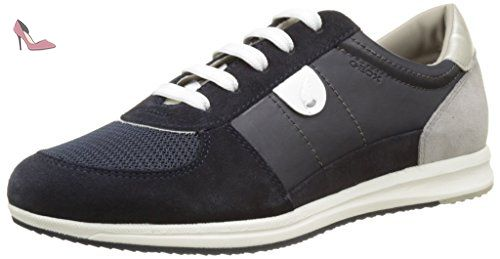 Geox U Avery B, Sneakers Basses Homme, Gris (Stone), 39 EU