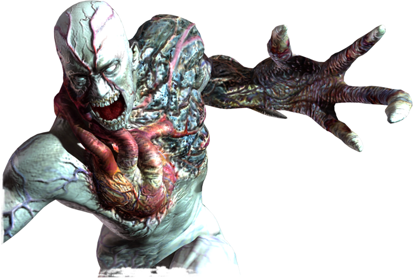 Resident Evil Tyrant This Was The Final Boss From Resident Evil This Was A Strong Enemy With His Giant Claw Could Kill Anything Incluthing Albert Wesker