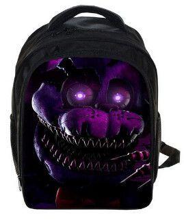 4581992222 Five Nights At Freddys Backpack FNAF Chica Foxy Bonnie Mangle Children  School Bags Chica Backpacks Boys Girls Kindergarten Bag