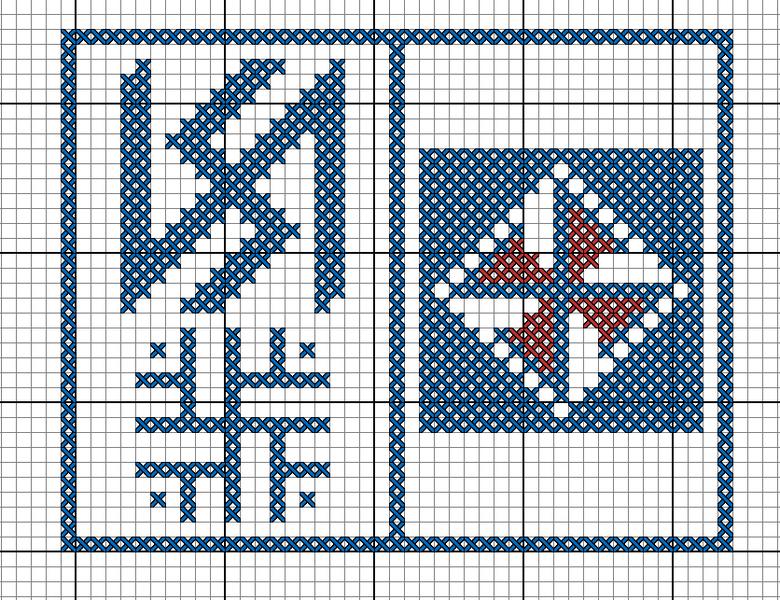 Вышивка крестом обереги описания