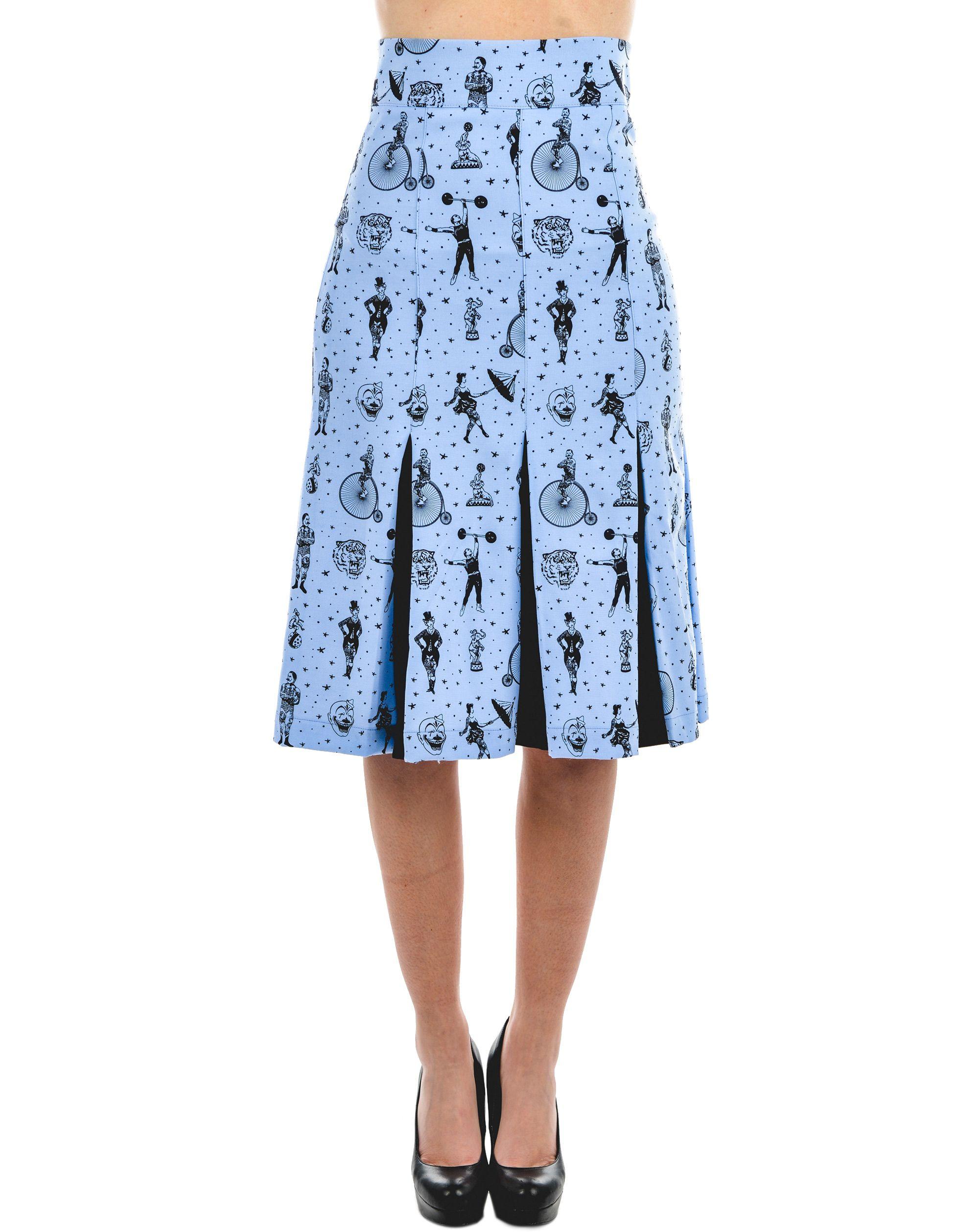 Strongman Panel Skirt Blue