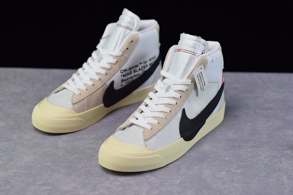 Nike Off White X Blazer Mid Og The 10 Aa3832 100 Boys White Shoes Nike Fashion Shoes Adidas Fashion Shoes