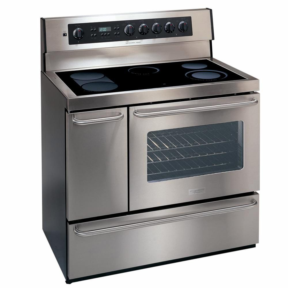 Charming Ideas Double Ovens Lowes. b079633aeedee6d1f73333aa87632518 jpg Kenmore Elite  40 Self Clean Freestanding Electric Range w Two