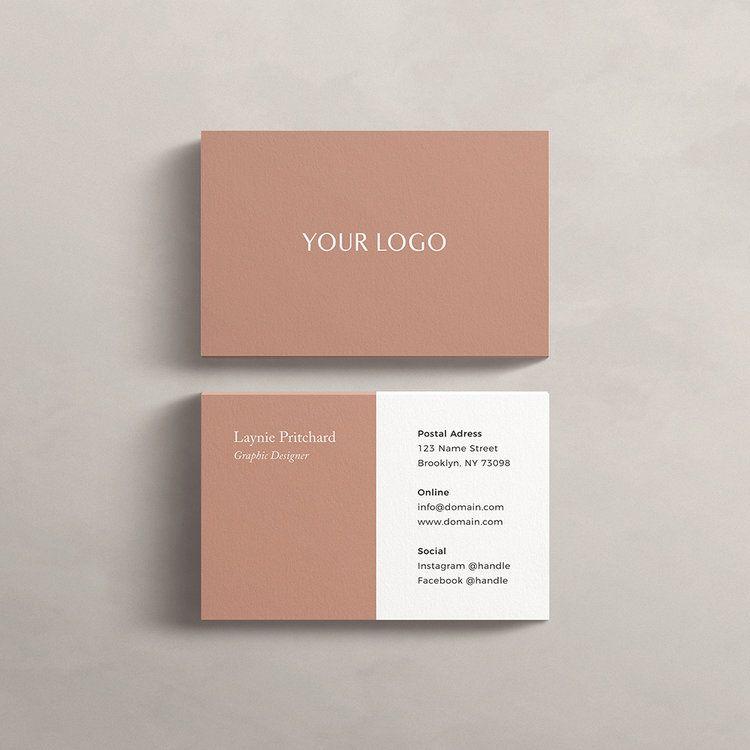 Free Business Card Templates — Mint Lane