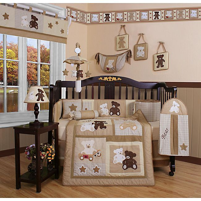 Dress Up Your Baby S Room In This 13 Piece Crib Bedding