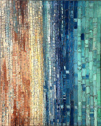Abstract Art- grading bars