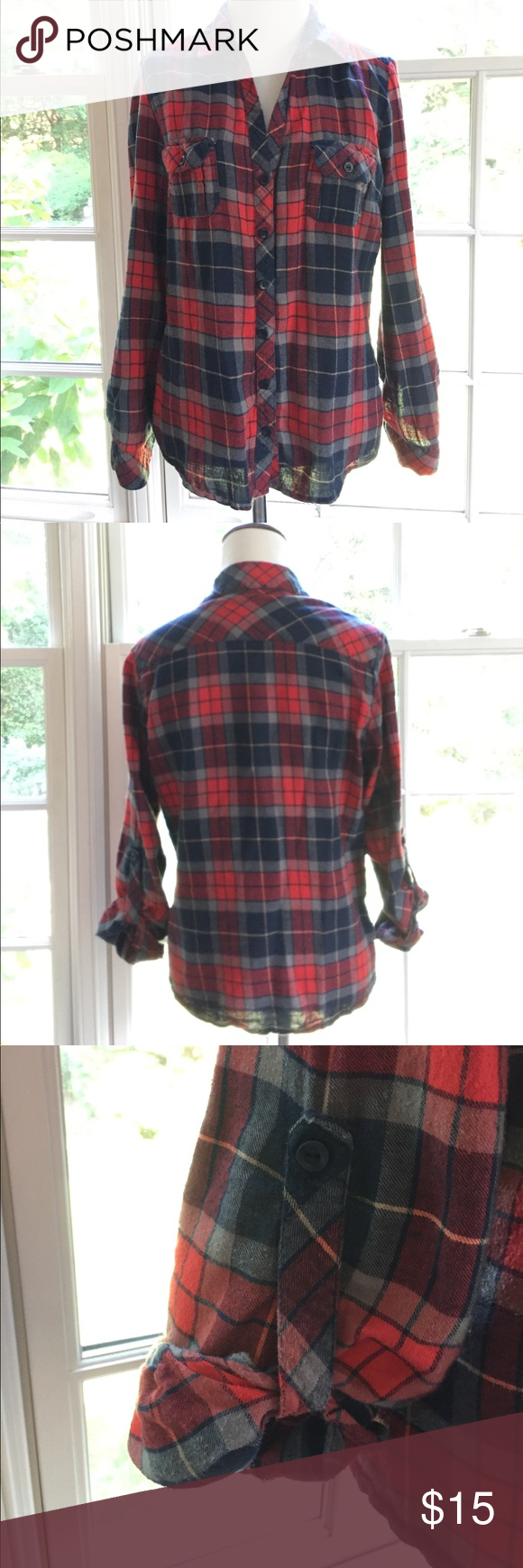 Red flannel shirts  Navy Blue and Red Flannel Shirt  Red flannel shirt Red flannel and