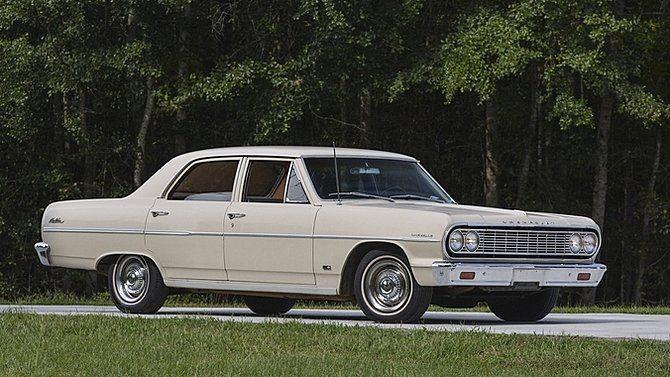 1964 Chevrolet Chevelle Malibu 4 Door Sedan Chevrolet Malibu