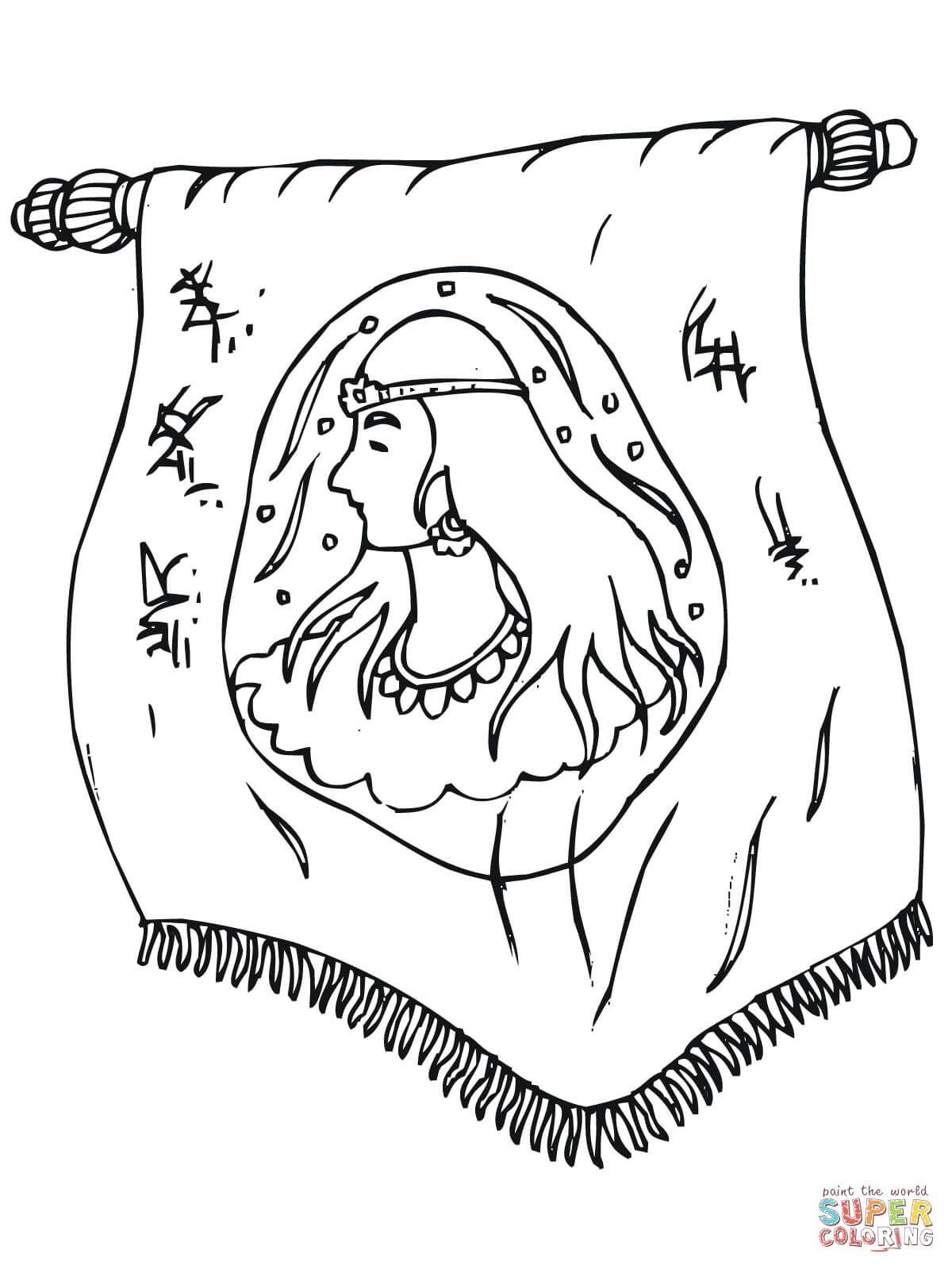 Boekrol Koningin Esther Bijbel Verhalen Koningin Werkjes