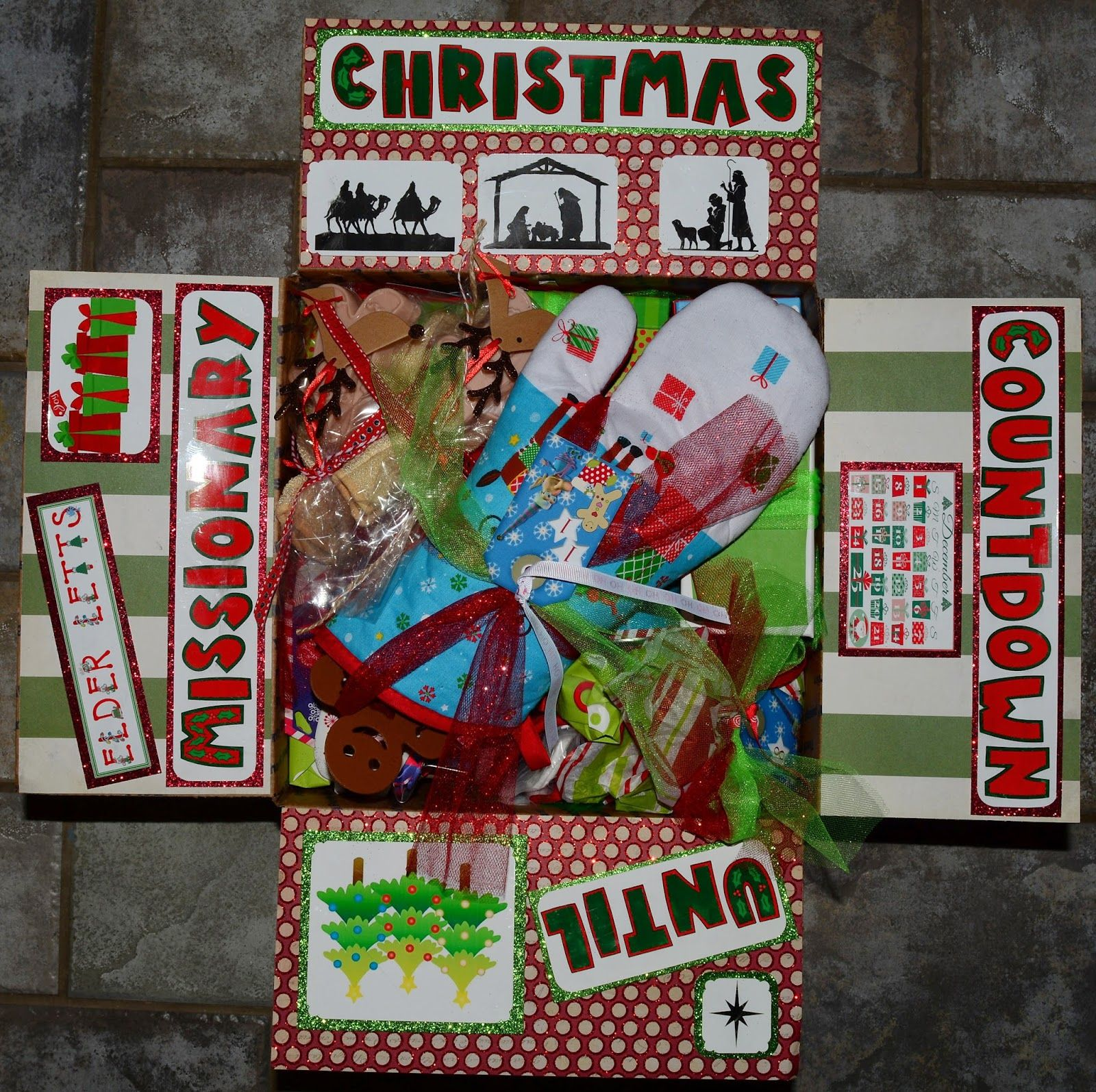 Missionary box moms missionary 12 days of christmas 2nd year lds missionaries negle Gallery