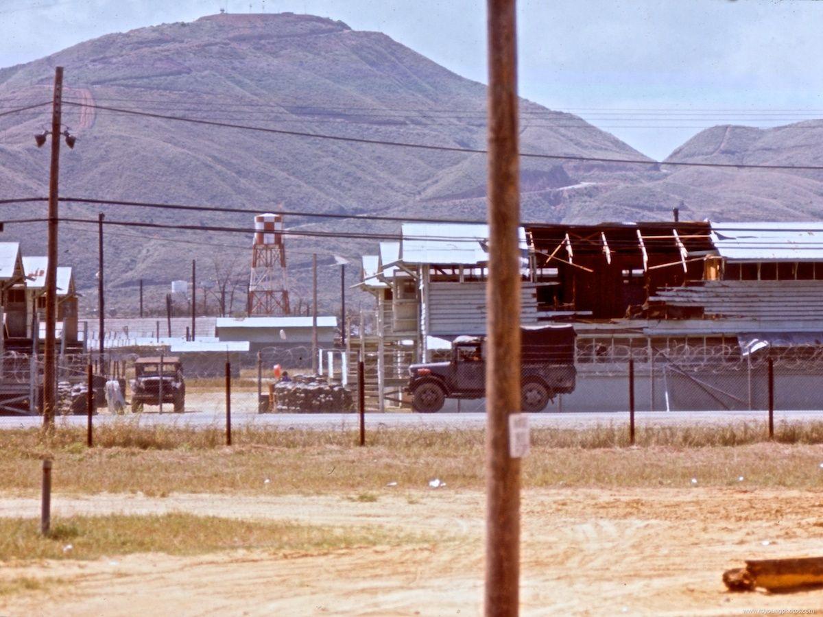 DaNang Air Base Vietnam | Danang Vietnam Rocket Damage ...