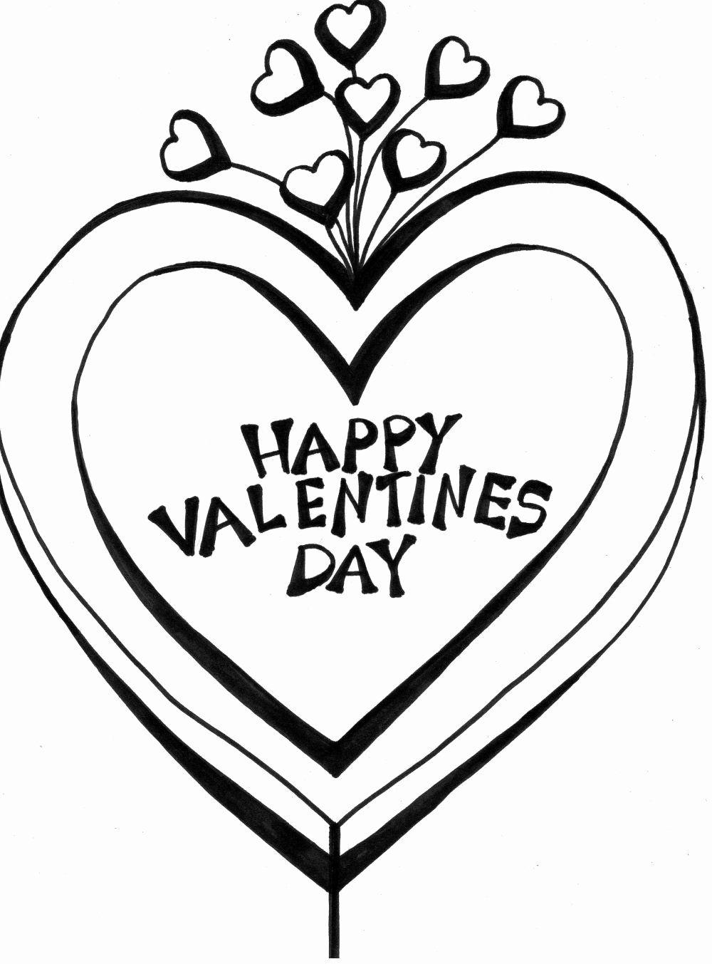 valentine heart malvorlagen awesome happy valentinstag