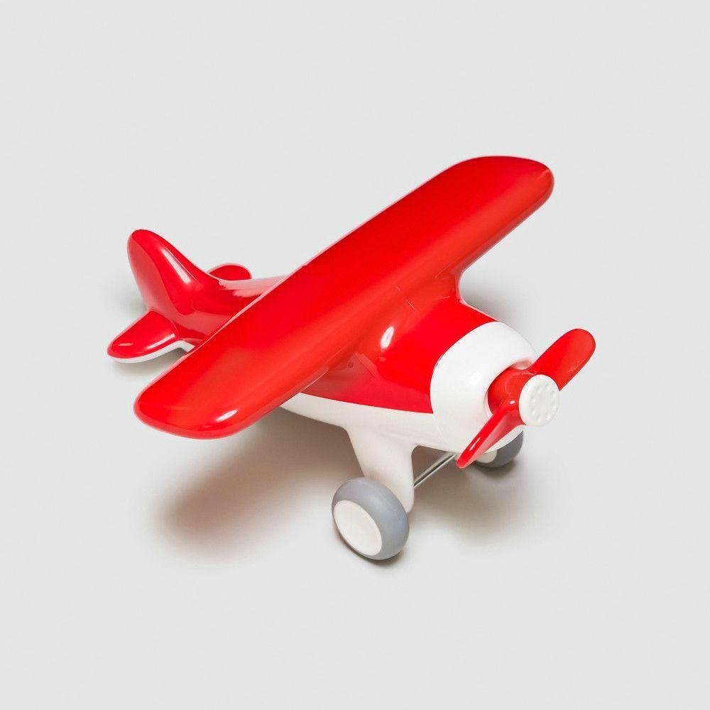 Green Toys Airplane Phthalates Free BPA Free Red Aero Plane for Improving