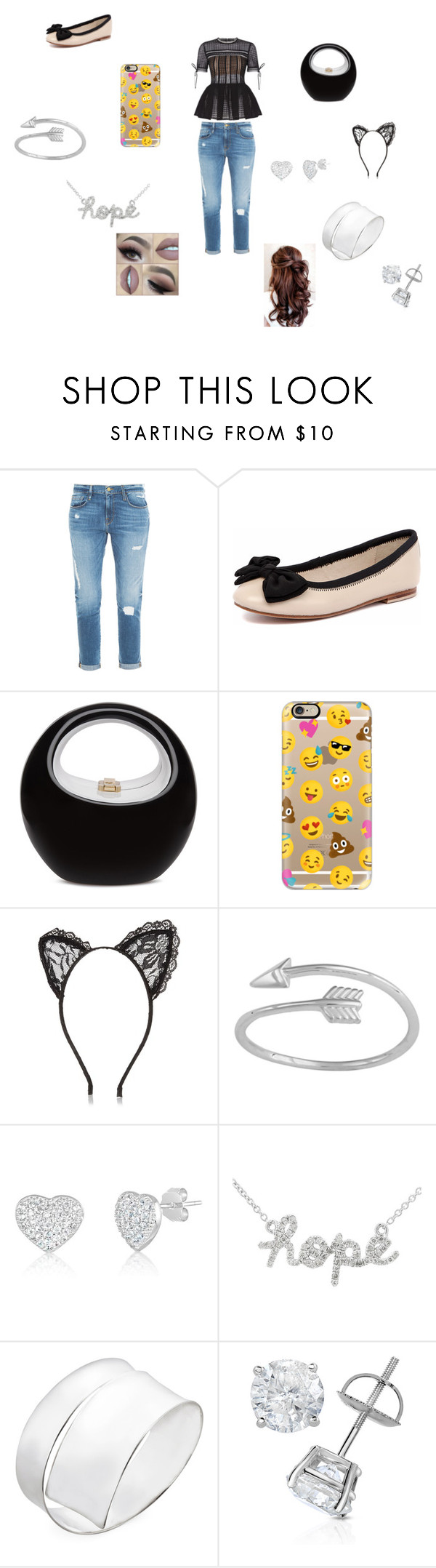 """mall time"" by vyesica-yv on Polyvore featuring Frame Denim, Human Premium, Casetify, River Island and Gucci"