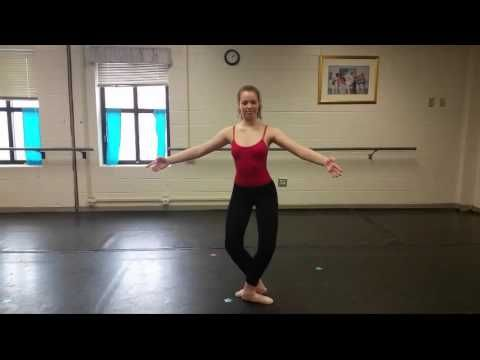 Tombe Pas De Bourree Instructional Video Youtube Ballet
