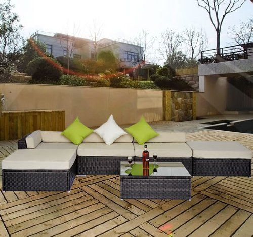 Outsunny-Deluxe-Rattan-Furniture-Wicker-Conservatory-Outdoor-Garden