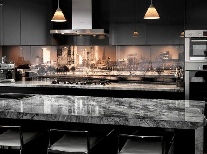 Pin von Su Lu auf Wandgestaltung   Pinterest   Küchenrückwand ...
