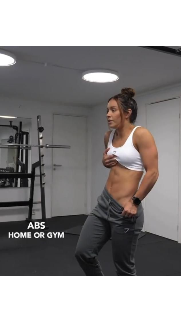 abs workout for women Home or Gym