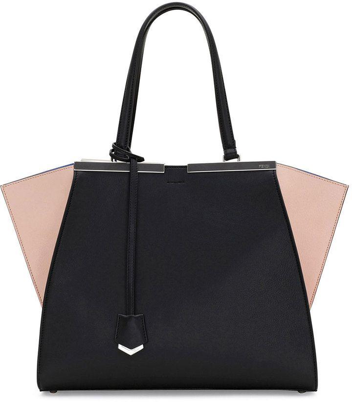 18af491421 Fendi 3 Jours Mini Tricolor Satchel Bag