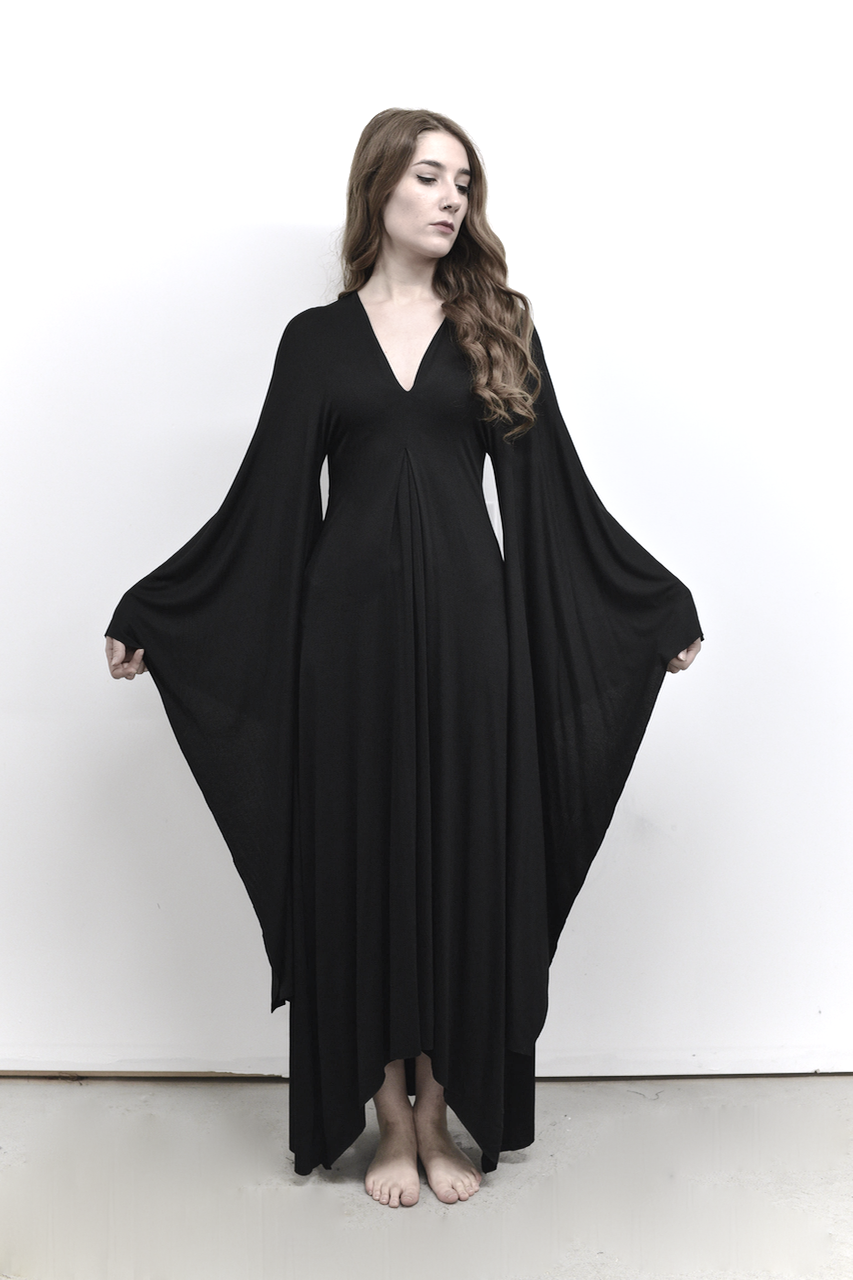 8c6aabad27519 Kimono Sleeve Gown More