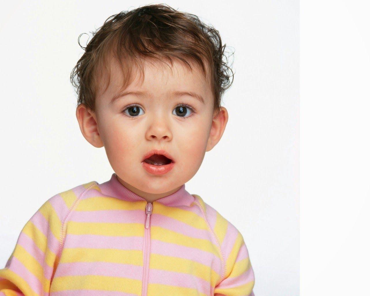 lovely baby face pretty cute full hd wallpaper Sekil.az
